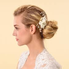 hair pieces for wedding remedios bridal hair flower side comb barrette