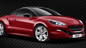 peugot uk peugeot rcz red carbon announced for the u k