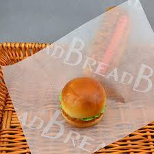 hamburger wrapping paper food wrapping paper food