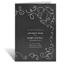wedding program chalkboard chalkboard story wedding program s bridal bargains