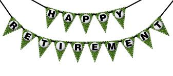 party banner retirement golf printable party banner and decoration