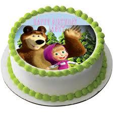edible photo masha and the edible cake topper cupcake toppers edible