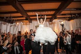 Jewish Wedding Chair Dance Elegant California Wedding With Sophisticated Décor Inside Weddings