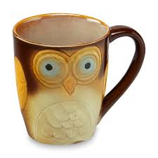 owl mug gibson 17 ounce moonlight owl mug