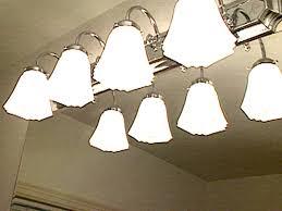 replacing bathroom light fixtures video hgtv