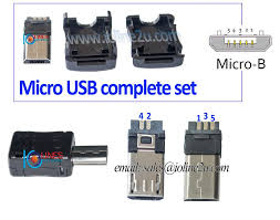 micro usb wiring diagram u0026 a liberated micro usb connector