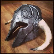 Halloween Prop Ideas by Skyrim Ancient Nord Helmet Skyrim Helmets And Cosplay