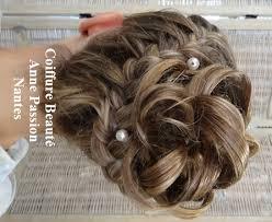 chignon mariage chignon pour un mariage coiffure en image