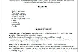 Accounting Clerk Resume Sample by Unit Secretary Job Resume Reentrycorps