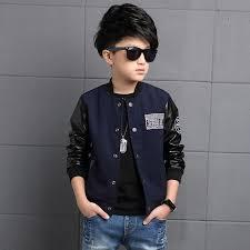 aliexpress com buy 6 16t boy leather sleeve clothes boys jacket