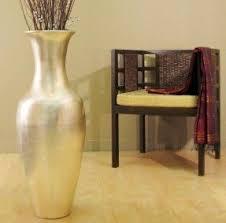 Large Glass Floor Vase Silver Floor Vase Foter