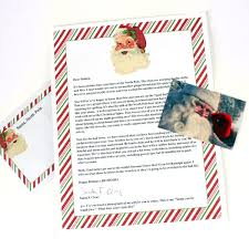 letters from santa letters from santa postmarked from the pole a