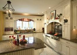 Photos Of Country Kitchens French Country Kitchen With Antique White Painted Cabinetry