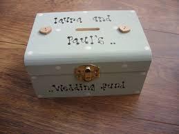 shabby chic money box personalised any name you want wedding