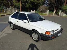 mazda 323 daily turismo 5k turbo hatch 1988 mazda 323 gtx