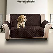 Waterproof Slipcovers For Couches Amazon Com Quilted Waterproof Nonslip Sofa Slipcover For Pet Dog