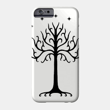 white tree of gondor black white tree of gondor phone