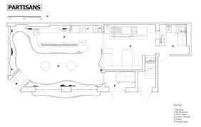 floor plan bar gallery of bar raval partisans 21