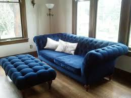 deep blue velvet sofa navy blue velvet sofa art decor homes blue velvet sofa it s a