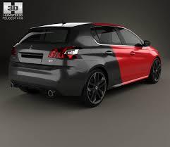 peugeot 308 2015 peugeot 308 gti 2015 3d model hum3d