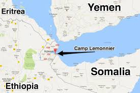 Horn Of Africa Map by Chinese Base In Djibouti Near Camp Lemmonnier Africa Us Concern