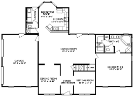 colonial homes floor plans floor plan of a colonial home home plan