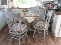 awesome shabby chic round dining table and chairs shab chic dining