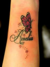 butterfly tattoo designs with names tattoo collection
