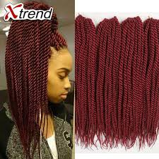 Braid Hair Extensions by Wholesale Super Deal 18inch Crochet Senegalese Twist Hair 20roots