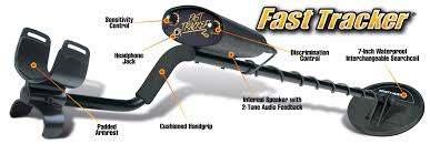 amazon com bounty hunter fast tracker metal detector 7 inch