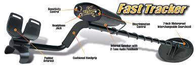 amazon com bounty hunter fast tracker metal detector 7 inch