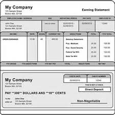 pay stub template year to date newsletter template word