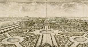 Versailles Garden Map Lenôtre U0027s Art Is Structured On The Development Of Lines And