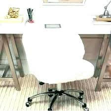 faux fur desk chair ivory desk chair ivory leather desk chair thesocialvibe co