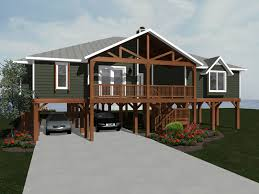 Beach Bungalow Floor Plans Talani Beach Vacation Home Plan 069d 0116 House Plans And More