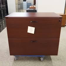 Mahogany Lateral File Cabinet Used Ofd Nexus 2 Drawer Lateral File Cabinet Mahogany Fil1494