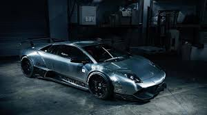 widebody cars lamborghini murcielago with brushed aluminum wide body kit