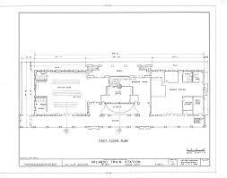 file first floor plan atlantic coastline railroad station 1402