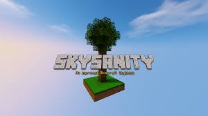 Skyblock Map Skysanity An Improved Skyblock Maps Mapping And Modding