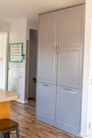 kitchen pantry organizers ikea how to assemble an ikea sektion pantry infarrantly creative