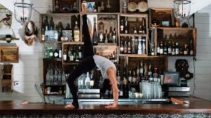 try yoga with a view or join a mass meditation at downtown l a u0027s
