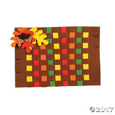 fall colors weaving placemat craft kit foam crafts craft kits and