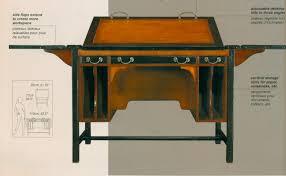 Schreibtisch 110 Cm Architekten Schreibtisch Zeichentisch Authentic Models Möbel