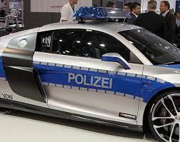 fastest police car abt audi r8 gtr polizei u201cworld u0027s fastest police car