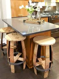 table bar cuisine table bar bois table de bar cuisine haute trendy sobuy ogt ensemble