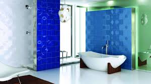 small bathroom wallpaper ideas modern electric blue bathroom wallpaper by hd wallpapers daily