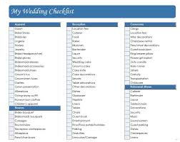 wedding checklist book printable wedding checklist the knot world of exle