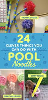 Pool Noodle Decorations Can You Believe It U0027s A Pool Noodle Pool Noodle Crafts Gross