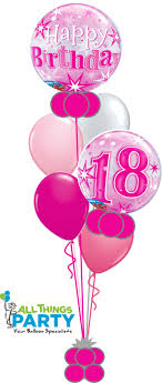 balloons for 18th birthday 18th birthday bouquet 18bd09 all things party