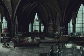 gothic room dark shadows the story behind the grand gothic set design gothic